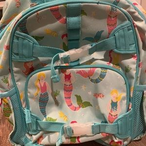 Large pottery barn kids mermaid backpack 🎒🧜🏼‍♀️